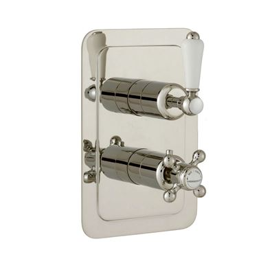 Butler & Rose Caledonia Lever Vertical Concealed 2 Outlet Shower Valve